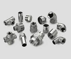 Raccordi filettati ISO in ghisa e acciaio inox