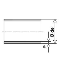 Tubo inox elettrounito